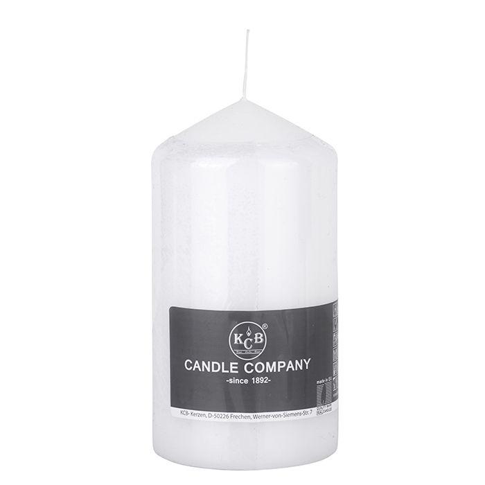 Pillar Candles White 80 x 150mm