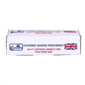 Castleview Baking Parchment 300mm x 50m
