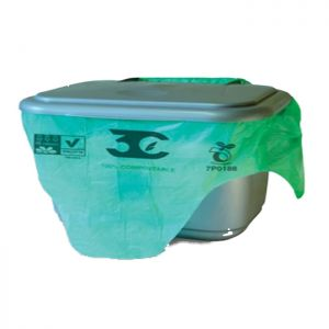 Compostable Caddy Liner Pk20  C/30  10ltr bags