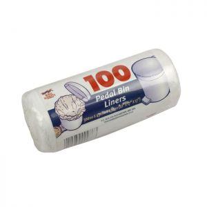 Pedal Bin Liners Roll 100 C/30