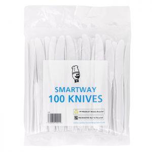 Smartway White Knives Pk100 C/10